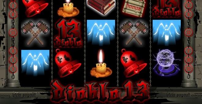 Große Gewinne mit dem Spielautomaten Diablo 13