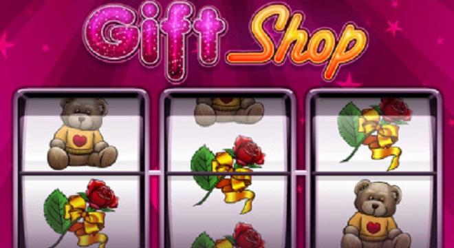 Geschenke mit dem progressiven Spielautomaten Gift Shop