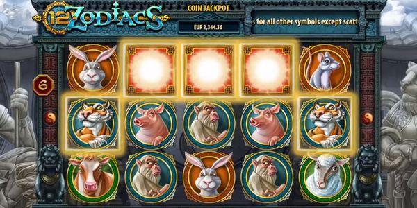 12 Sternzeichen als vergnüglicher Online Spielautomat