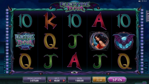 Science-Fiction-Spielautomat Electric Diva im Online Casino