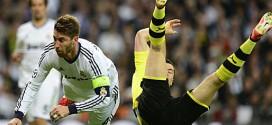 Dortmund und Real Madrid bei der Champions League