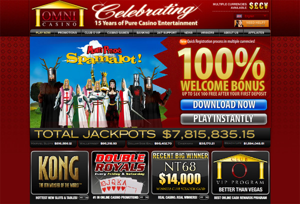 Neue chinesische Spielautomaten im Omni Online Casino