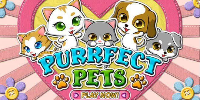 Haustiervergnügen mit dem Online Spielautomaten Purrfect Pets