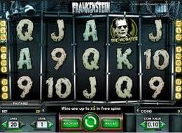 Frankenstein Slot mit großen Gewinnen im Casino Euro