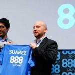Luis Suarez jetzt im 888Poker Team
