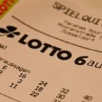 Fast eine Million Euro mit Lottogewinn
