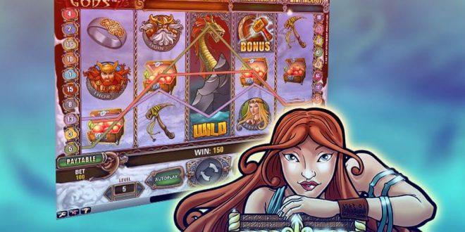 Progressiver Jackpotgewinn mit Spielautomat Hall of Gods