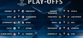 Rückspiel von Hoffenheim in den Champions League-Play-offs