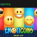 Emoticon-Vergnügen mit dem neunen Online Spielautomaten EmotiCoins