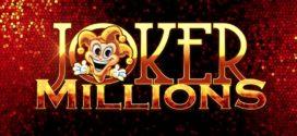 Progressiver Jackpot des Online Spielautomaten Joker Millions geknackt