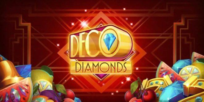 Spielautomat Deco Diamonds verschönert das Online Casino