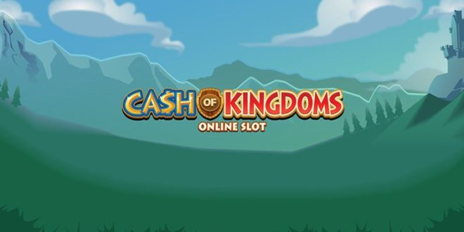 Einfallende Wildsymbole im Online Spielautomaten Cash of Kingdoms