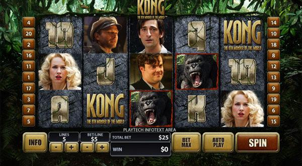 King Kong erneut im Online Casino