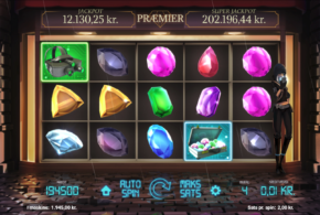 Juwelenraub im Spielautomaten im Online Casino