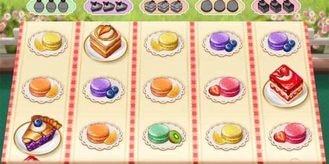 Dessert genießen mit dem Spielautomaten  Baker's Treat