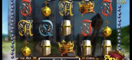 Mittelalterliches Abenteuer im Online Spielautomaten Castle Siege