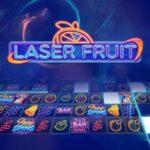 Laser und Früchte in einem neuen Spielautomaten