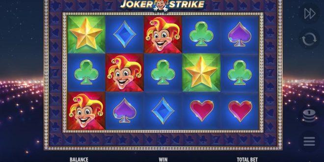Neue Höhen mit dem Online Spielautomaten  Joker Strike