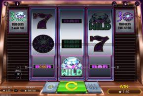 Neuer klassischer Spielautomat mit Diamanten