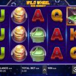 Die Rollen im Spielautomaten Wild Wheel drehen