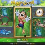 Tore schießen im Online Spielautomaten Hugo Goal