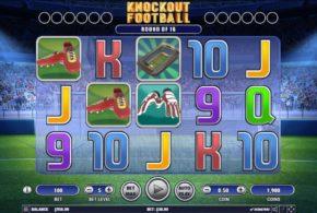Mit dem Spielautomaten Knock-out Football trotzdem gewinnen!