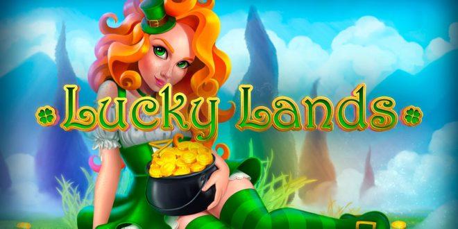 Bunte Landschaften mit dem Spielautomaten Lucky Lands erkunden
