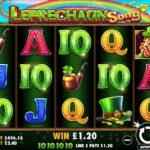 Irisches Glück im Online Spielautomaten Leprechaun Song