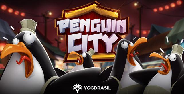 Pinguin-Abenteuer mit dem Online Spielautomaten Penguin City