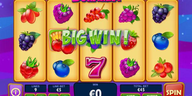 Berry Berry Bonanza – der neue Früchte-Spielautomat