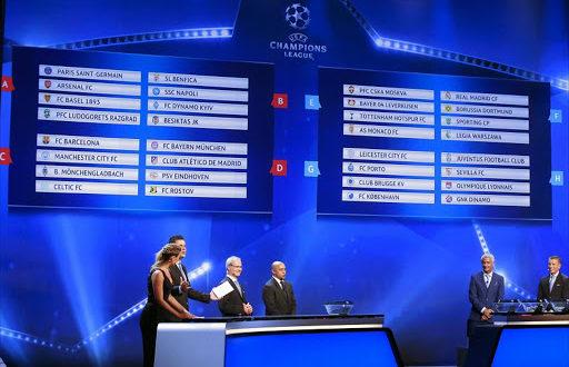 Quoten für die Champions League Gruppensieger
